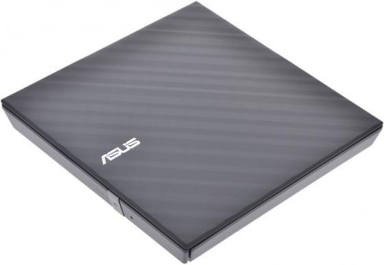 Внешний привод DVD±RW ASUS SDRW-08D2S-U Lite Slim USB2.0 Retail черный внешний привод dvd±rw lg gp70ns50 usb 2 0 серебристый retail