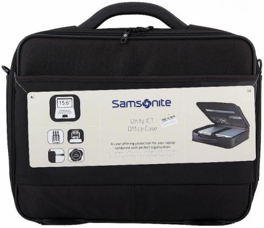 Сумка для ноутбука 15 Samsonite D38*005*09 нейлон черный б у сумку для ноутбука