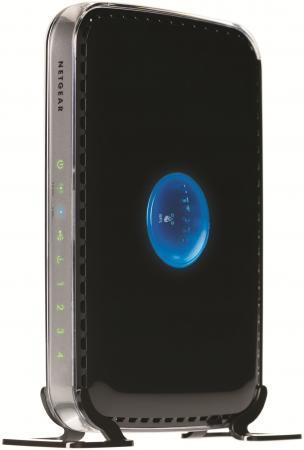 Беспроводной маршрутизатор NetGear WNDR3400-100PES 802.11abgn 600Mbps 5 ГГц 2.4 ГГц 4xLAN USB черный беспроводной маршрутизатор netgear r6800 100pes 802 11aс 1900mbps 5 ггц 2 4 ггц 4xlan usb черный