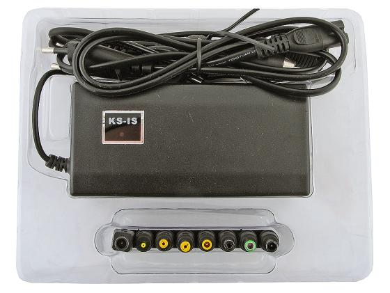 Блок питания для ноутбука KS-is Poad USB порт 90Вт TM-902 KS-002 блок питания для ноутбука ks is ks 258 rooq 100вт