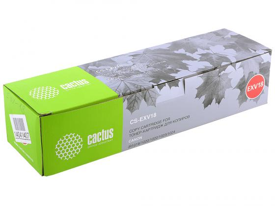 Картридж Cactus CS-EXV18 для Canon iR1018/1020/1022/1023/1024 8300 стр. paper delivery tray for hp laserjet 1010 1012 1018 1018s 1020 1015 1022 1022n rm1 0659 000cn rm1 0659 rm1 0659 000 rm1 2055