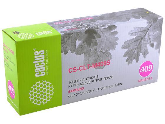 Картридж Cactus CS-CLT-M409S для Samsung CLP-310 315 CLX-3170 3175 3175FN пурпурный 1000 стр.