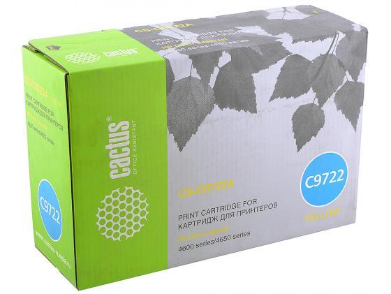 Тонер-картридж Cactus CS-C9722A для HP Color LaserJet 4600/4650 желтый 8000стр doll transparent umbrella for bjd 1 3 sd10 sd13 sd17 uncle ip soom bjd doll accessories ac25