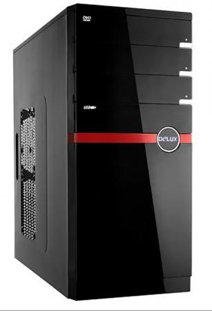 все цены на Корпус ATX Delux DLC-MQ859 Без БП чёрный онлайн