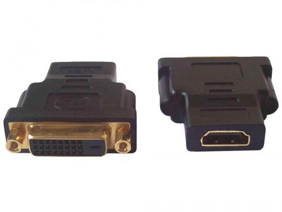Купить Переходник HDMI F - DVI M ORIENT C485, Черный