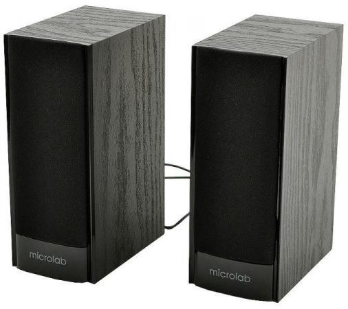 лучшая цена Колонки Microlab B56 2х1.5 Вт USB черный ПДУ