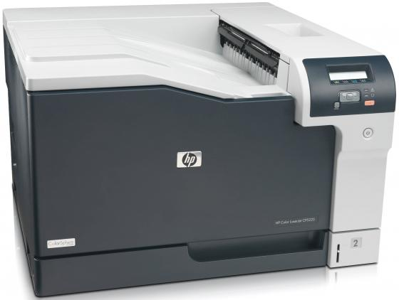 цена на Принтер HP Color LaserJet Professional CP5225 CE710A цветной A3 30ppm 600x600dpi 448Mb USB