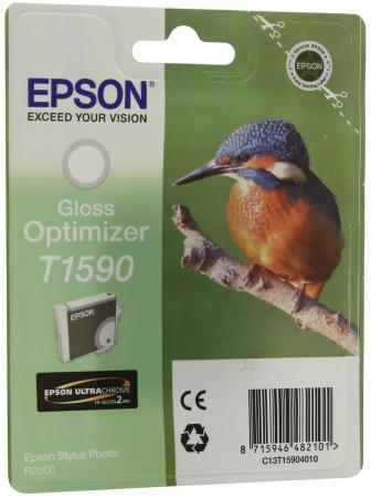 Картридж Epson C13T15904010 Optimizer T1590 C13T15904010 для Epson Stylus Photo R2000 Gloss глянцевый снпч epson stylus dx5050