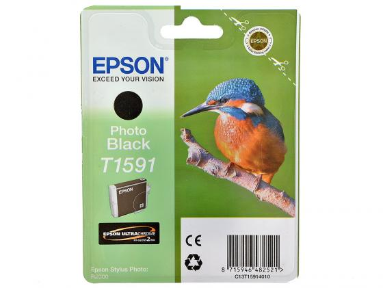 Картридж Epson C13T15914010 для Epson Stylus Photo R2000 Photo Black черный t a mp 2000 r black