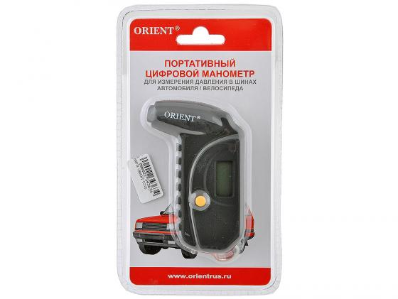 Манометр ORIENT TG-02 портативный цифровой питание от батареек orient ub8y001w