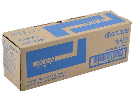 Картридж Kyocera TK-1140 для FS 1035MFP 1135MFP M2035DN M2535DN черный 7200стр картридж nv print nvp tk 1140 для kyocera mita fs 1035mfp 1035mfp dp 1135mfp 1035mfp l 7200стр
