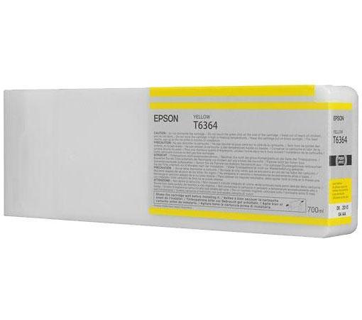 Картридж Epson C13T636400 для Epson Stylus Pro 7900/9900 желтый картридж epson t009402 для epson st photo 900 1270 1290 color 2 pack