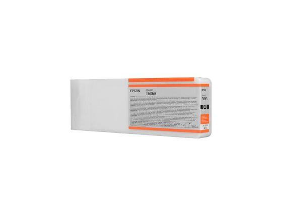 Фото - Картридж Epson C13T636A00 для Epson Stylus Pro 7900/9900 оранжевый картридж epson c13t596200 для epson stylus pro 7900 9900 голубой
