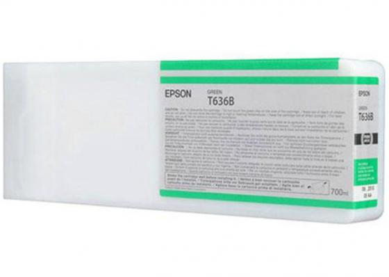 Картридж Epson C13T636B00 для Epson Stylus Pro 7900/9900 зеленый original cc03main mainboard main board for epson l455 l550 l551 l555 l558 wf 2520 wf 2530 printer formatter