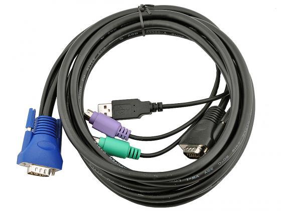 Набор кабелей D-LINK KVM-402 набор кабелей d link kvm 403
