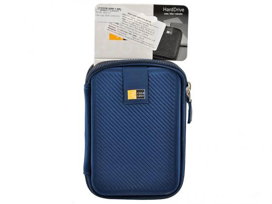 Чехол для HDD 2.5 Case Logic EHDC-101B EVA темно-синий чехлы для фотоаппаратов case logic рюкзак case logic kontrast для pro dslr камеры kdb 101 black
