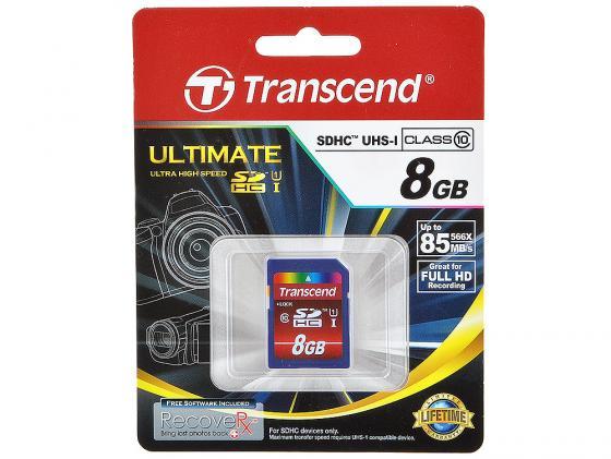 Фото - Карта памяти SDHC 8GB Class 10 Transcend TS8GSDHC10U1 сандалии code code co073awffid1