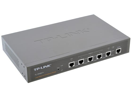 Маршрутизатор TP-LINK TL-R480T+ 2WAN+3LAN 10/100Mbps Advanced firewall