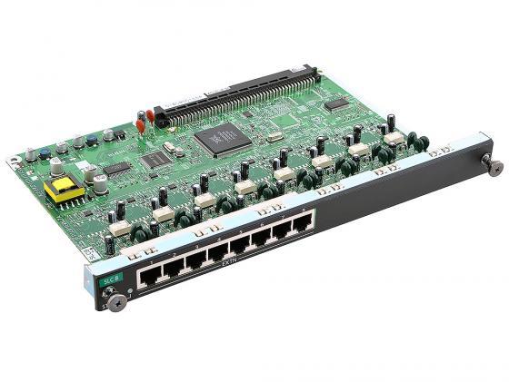 Плата дополнительных линий Panasonic KX-NCP1173XJ 8 внутренних аналоговых линий атс panasonic kx tem824ru аналоговая 6 внешних и 16 внутренних линий предельная ёмкость 8 внешних
