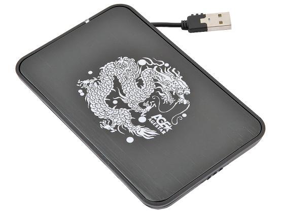 """купить Внешний контейнер для HDD 2.5"""" SATA AgeStar SUB2A8 USB2.0 черный недорого"""