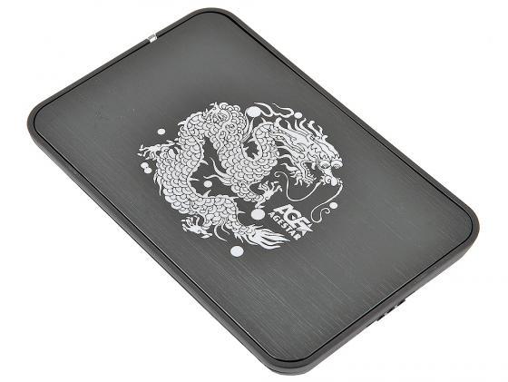 Внешний контейнер для HDD 2.5 SATA AgeStar 3UB2A8 USB3.0 черный sata корпус agestar 3ub2a8 black usb3 0 to 2 5hdd sata алюминий