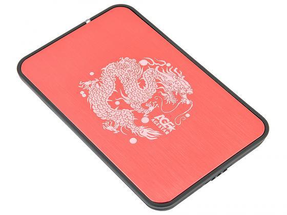 Внешний контейнер для HDD 2.5 SATA AgeStar 3UB2A8 USB3.0 красный внешний контейнер для hdd 2 5 sata agestar 3ub2o1 usb3 0 красный