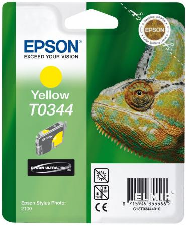 Картридж Epson C13T03444010 для Epson Stylus Photo 2100 Yellow цены