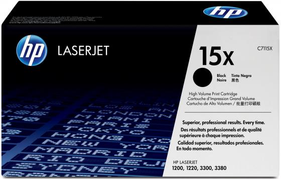 Картридж HP C7115X для LaserJet 1200 увеличенный ресурс 1pcs separation pad for hp laserjet 1000 1150 1200 1220 1300 3300 3310 3320 3330 printer separation pad applies