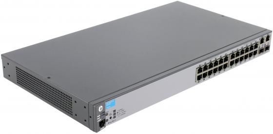 Коммутатор HP 2620-24 управляемый 24 порта 10/100Mbps 2xGbLAN 2xSFP J9623A коммутатор hp hp 2620 48 switch