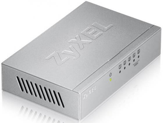 Коммутатор Zyxel ES-105A неуправляемый 5 портов 10/100Mbps коммутатор zyxel es 105a v2 неуправляемый 5х100base t