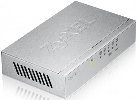 Коммутатор Zyxel GS-105B неуправляемый 5 портов 10/100/1000Mbps коммутатор zyxel gs1900 48 eu0101f