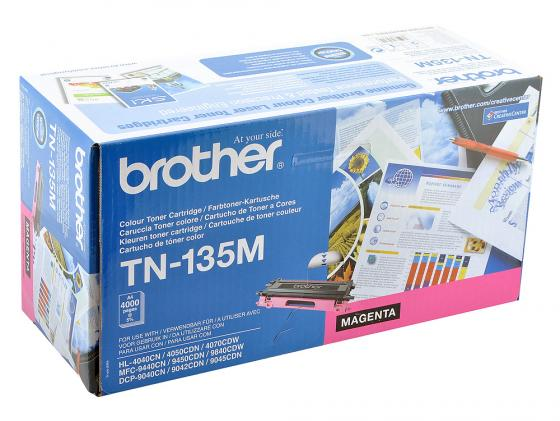 Картридж Brother TN-135M для HL-4040CN 4050CDN DCP-9040CN MFC-9440CN пурпурный brother lc1220y yellow картридж для brother dcp j525w mfc j430w mfc j825dw