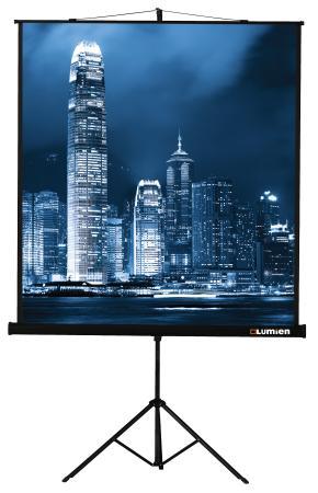 Экран на штативе Lumien Master View 180х180, LMV-100103 экран на штативе lumien master view 153х203 lmv 100107