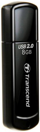 Флешка USB 8Gb Transcend Jetflash 350 TS8GJF350 цена и фото