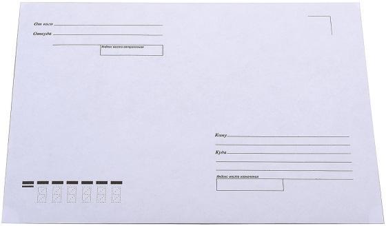 Конверт C5 PackPost Куда-Кому 1000 шт 80 г/кв.м белый конверт c5 эмика 2000 officepost 1 шт 80 г кв м белый 2501 т
