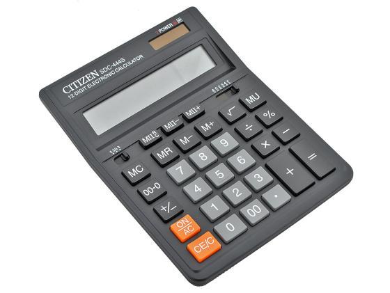 Калькулятор Citizen citSDC-444S 12 разрядов citizen ca4250 03e