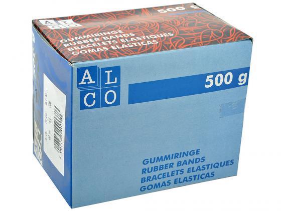 Резинки для купюр Alco диаметр 40 мм 500г красные в картонной упаковке джемпер ovs ovs ov001embrty0