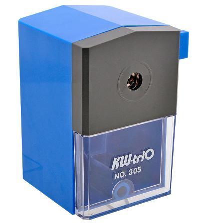 Точилка KW-trio 305ABLU пластик синий