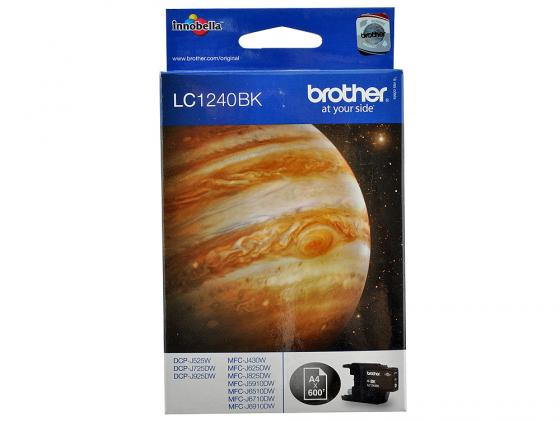 цены Картридж Brother LC1240Bk для MFC-J6510 6910DW черный