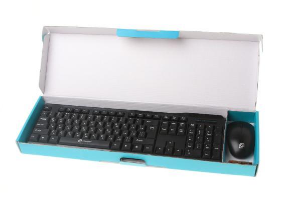 Комплект Oklick 230M черный USB