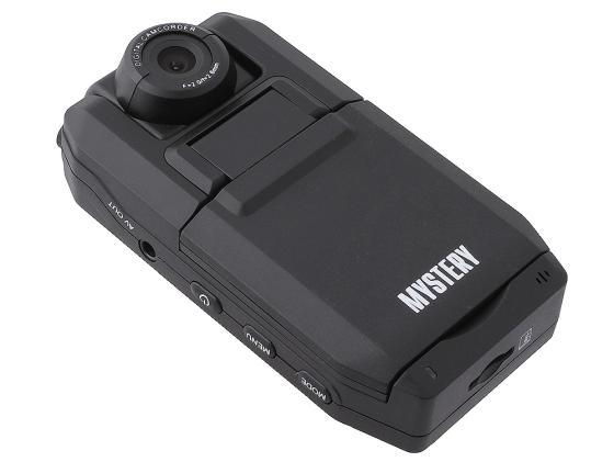 """Видеорегистратор Mystery MDR-650 2"""" 1280x960 5Мп 120° microSD microSDHC Черный цена"""