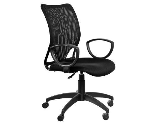 Кресло Buro CH-599AXSN/TW-11 спинка сетка черный сиденье черный TW-11 кресло для офиса бюрократ ch 599axsn tw 11 black