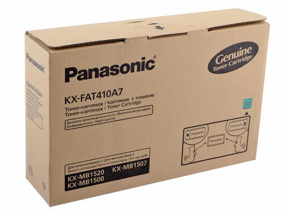 Тонер-картридж Panasonic KX-FAT410A7 для KX-MB1500 KX-MB1520RU 2500 стр.
