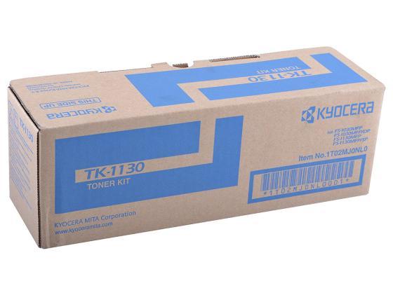 Картридж Kyocera TK-1130 для FS 1030MFP 1130MFP черный 3000стр датчик движения legrand valena мех in matic с нейтралью винтовой зажим 752073