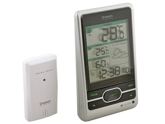 лучшая цена Погодная станция Oregon Scientific BAR206 с термометром
