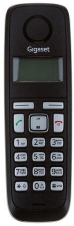 Радиотелефон DECT Gigaset A120 черный радиотелефон dect gigaset a540h черный
