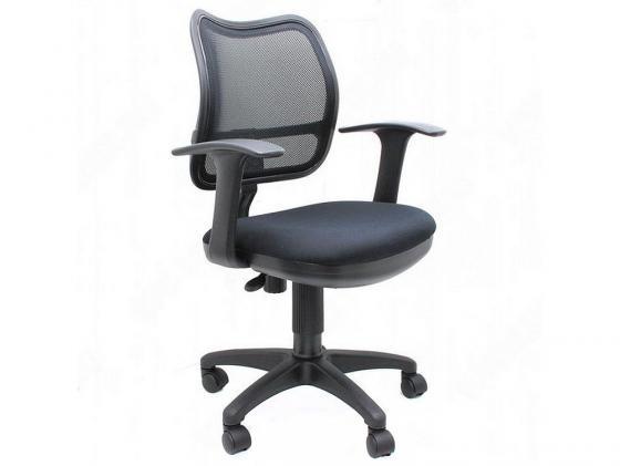 Кресло Buro CH-797AXSN/26-28 спинка черная сетка сиденье черная ткань кресло бюрократ ch 797axsn красный