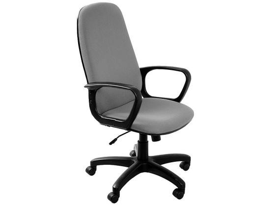 Кресло Buro CH-808AXSN/TW-12 серая тканевая обивка кресло алвест av 108 pl 727 mk ткань 415 серая с черной ниткой