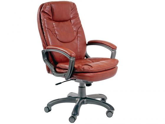 Кресло Buro CH-868AXSN/Brown пластик темно-серый искусственная кожа коричневый бюрократ ch 868axsn