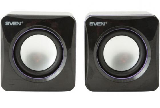 Колонки Sven 315 2x2.5 Вт USB черный колонки sven 315 5 вт чёрный